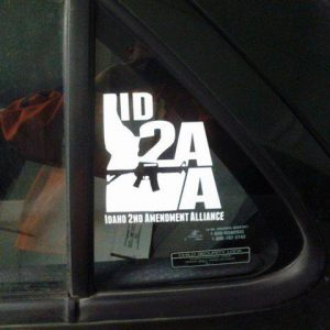 ISAA Window Sticker