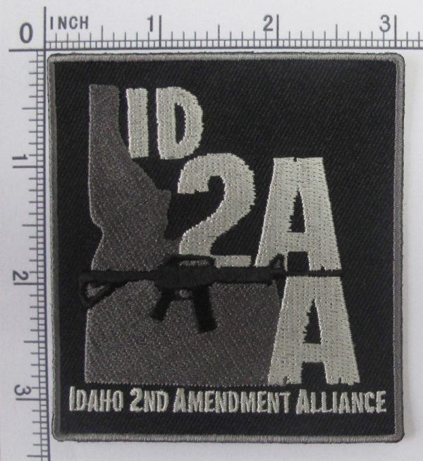 ISAA Motorcycle Patch