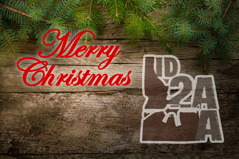 Merry Christmas from Idaho Second Amendment Alliance