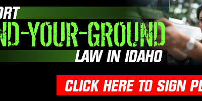 Idaho Needs Stand-Your-Ground Law!