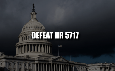 Tell Politicians in DC: OPPOSE H.R. 5717/S. 3254!